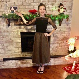 Pendleton High Waisted, Vintage, Tweed, Wool Skirt
